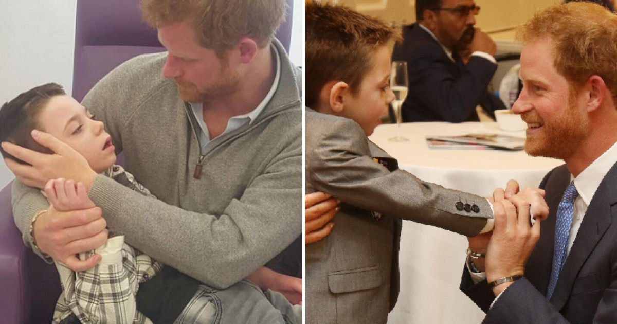prince harry letter.jpg?resize=300,169 - Both Of Her Kids Suffer From Rare Generical Disorder. After Writing A Letter To Prince Harry, She Gets A Response!