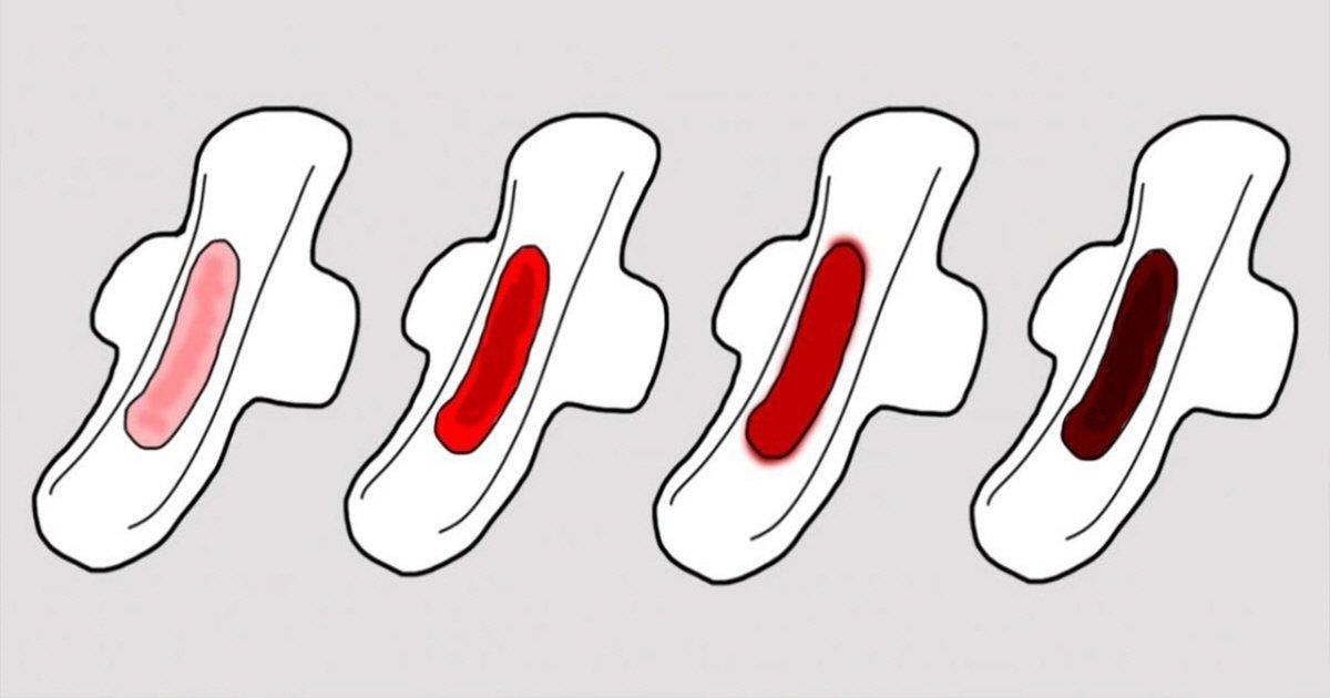 que significa el color de sangre de tu periodo - 당신의 건강 상태를 나타내는 '생리혈' 색 4가지