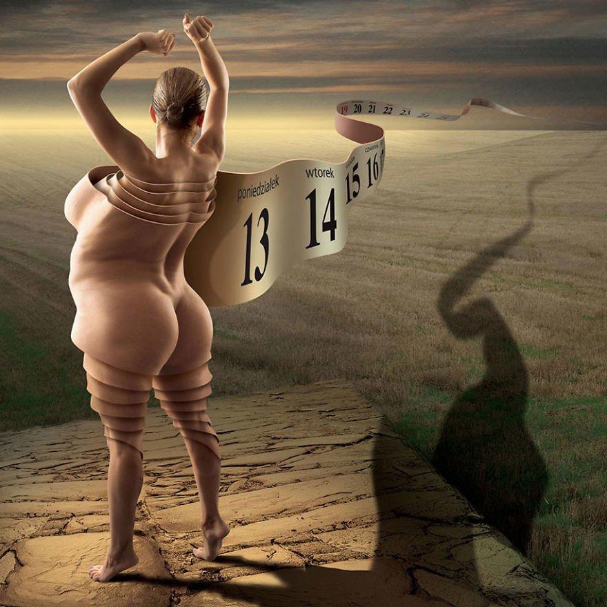 surreal illustrations poland igor morski 17 570de2dd4545d  880 - 신비하고 소름돋는 '현대 사회 풍자' 일러스트 20장