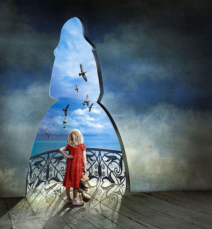 surreal illustrations poland igor morski 25 570de2f20d3eb  880 - 신비하고 소름돋는 '현대 사회 풍자' 일러스트 20장