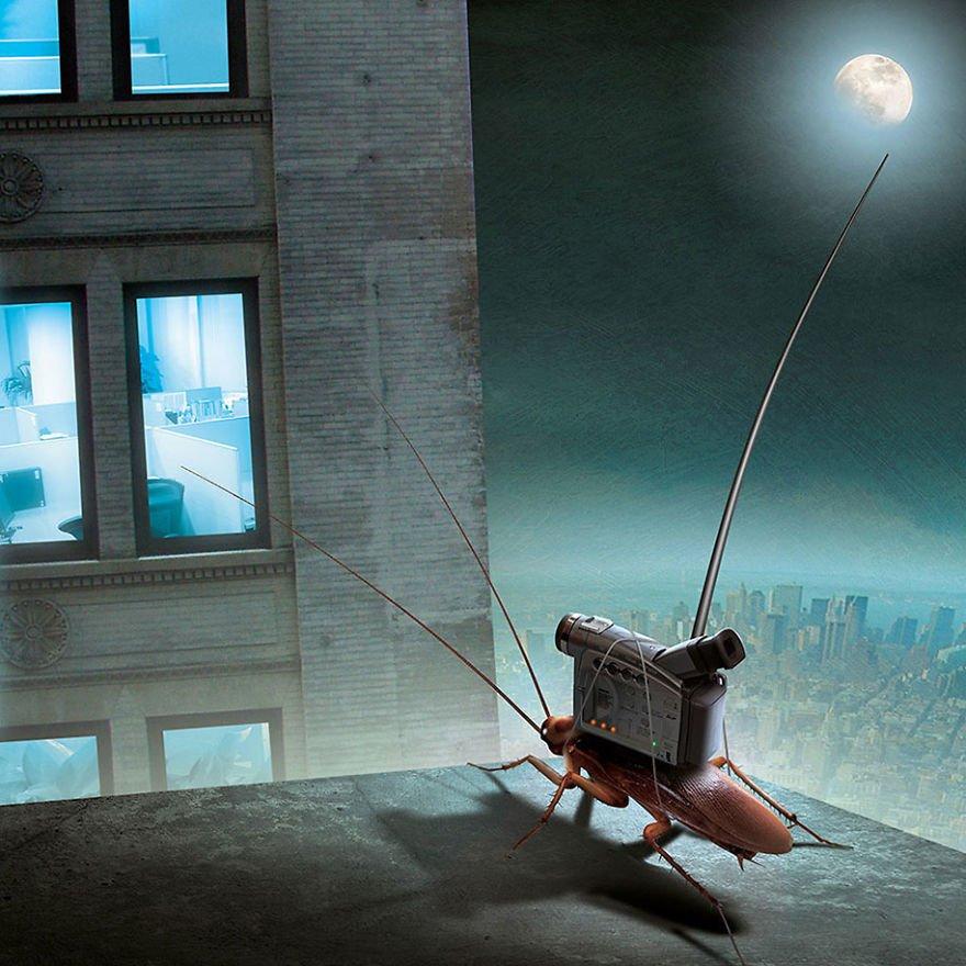 surreal illustrations poland igor morski 29 570de2fc02c87  880 - 신비하고 소름돋는 '현대 사회 풍자' 일러스트 20장