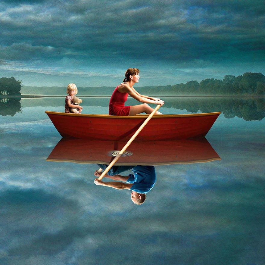 surreal illustrations poland igor morski 46 570de32b02dcd  880 - 신비하고 소름돋는 '현대 사회 풍자' 일러스트 20장