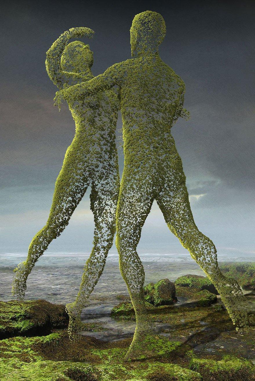 surreal illustrations poland igor morski 48 570de32fae07c  880 684x1024 - 신비하고 소름돋는 '현대 사회 풍자' 일러스트 20장