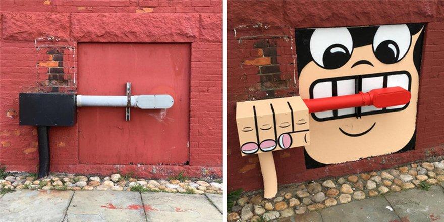 thumbnail 5.jpg?resize=1200,630 - 뉴욕의 천재 '거리예술가' 손에 재탄생한 길거리 (사진 25장)