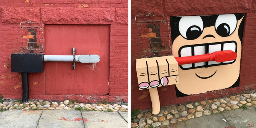 thumbnail 5 - 뉴욕의 천재 '거리예술가' 손에 재탄생한 길거리 (사진 25장)
