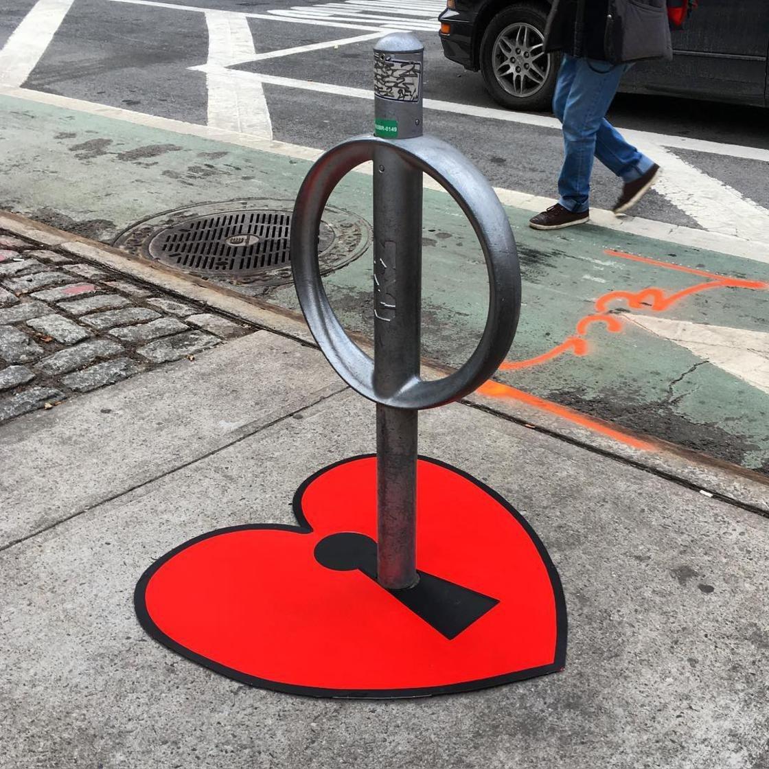 tom bob street art new york 11 1024x1024 - 뉴욕의 천재 '거리예술가' 손에 재탄생한 길거리 (사진 25장)