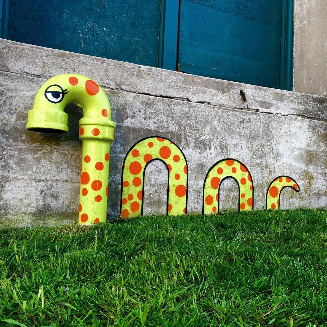 tom bob street art new york 17 1024x1024 - 뉴욕의 천재 '거리예술가' 손에 재탄생한 길거리 (사진 25장)