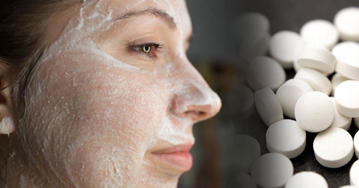 1 121.jpg?resize=412,232 - Fabulosas mascarillas con aspirina que harán lucir tu rostro formidable en tan sólo unos minutos