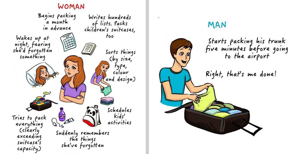 1 132.jpg?resize=1200,630 - 沒錯就是這樣!9 張插畫忠實呈現男女生的情境差異