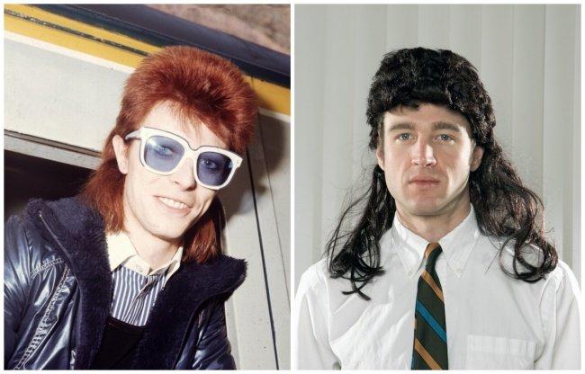© David Bowie 왼쪽 © LFI / Photoshot / REPORTER / East News © EAST NEWS