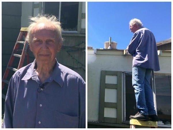 28 6 - O pequeno gesto de um vizinho que fez esse senhor voltar a ter esperança na humanidade