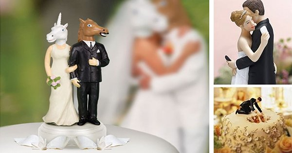 59 1 1.png?resize=300,169 - 14 Funny Wedding Cake Toppers That You Want To Try For Once!