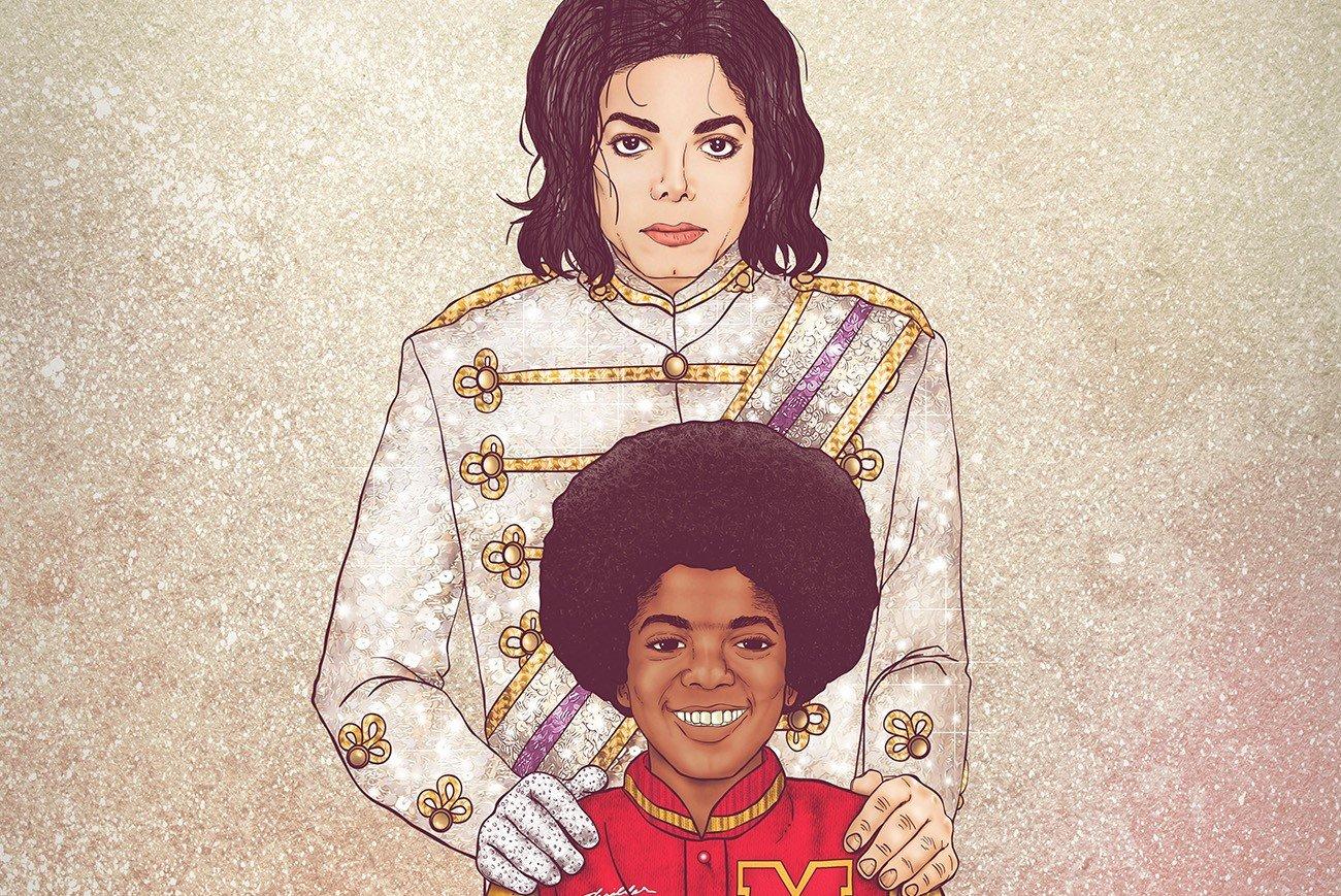 63 1.jpg?resize=412,232 - 14 ilustrações que colocam celebridades lado a lado com seu eu do passado