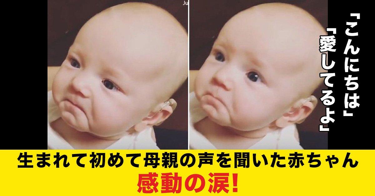 88 51 2.jpg?resize=412,232 - 生まれて初めて母親の声を聞いた赤ちゃん、感動の涙!