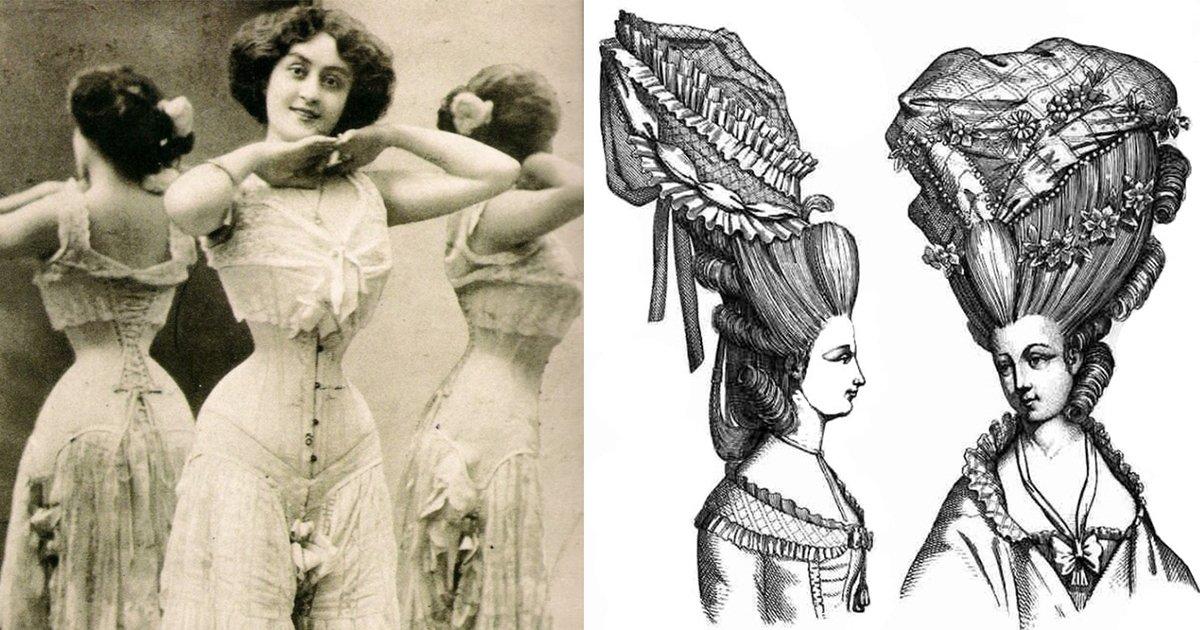 article thumbnail 43 - '죽음' 까지도 감수했던 과거 여성들의 패션 7가지