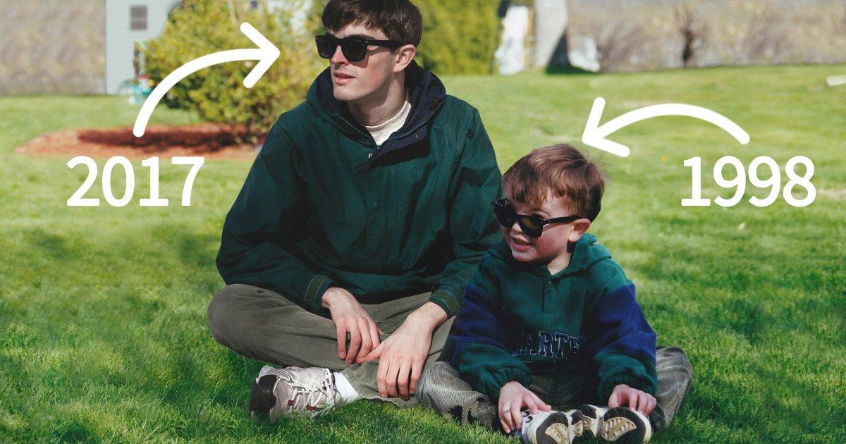 article thumbnail 61.jpg?resize=1200,630 - 포토샵으로 '어린 시절 자신'에게 친구를 만들어 준 사진 작가 (사진 11장)