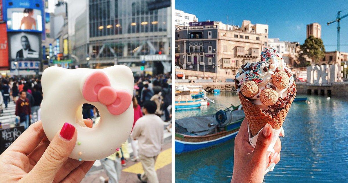 article thumbnail.jpg?resize=412,232 - 전세계를 여행하며 다양한 '길거리 음식'을 소개하는 소녀 (사진 40장)