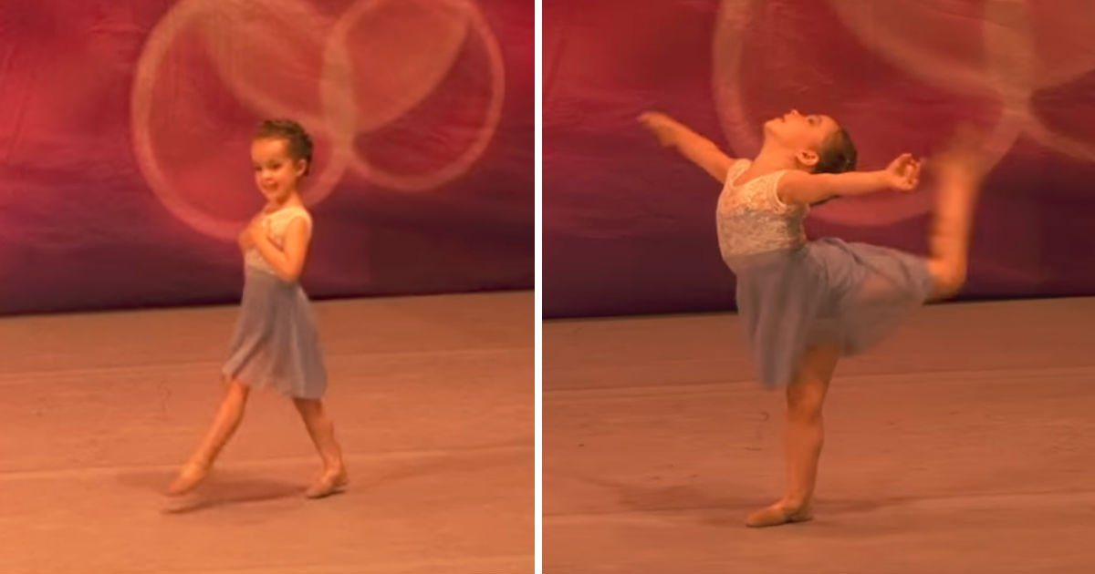 baby ballet cute - Tiny Little Girl Gets Ready To Dance. And She Is Taking The World By Storm!