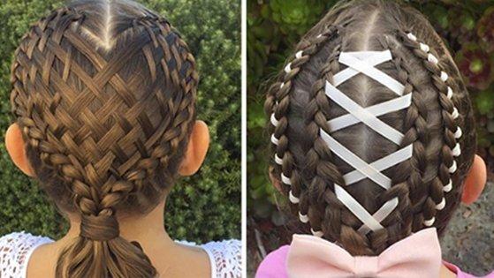 braids - 沒在跟你開玩笑!地表最強老媽的神乎其技辮子編髮技巧,讓女兒每天上學都有「超狂髮型」!