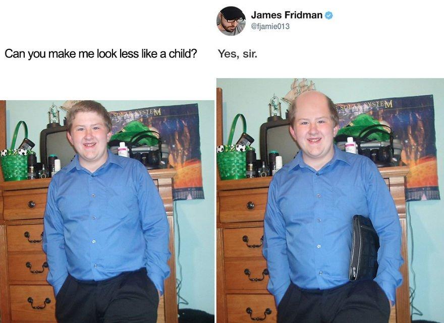 twitter 'James Fridman'