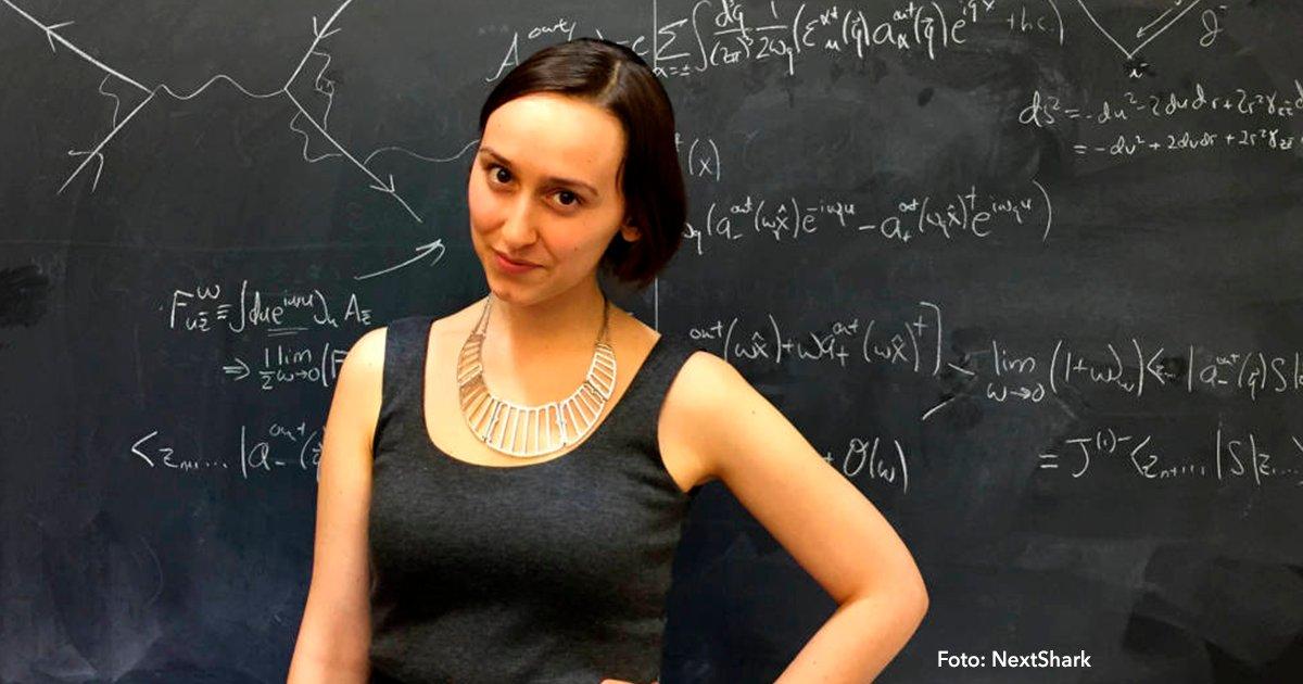 """coer.png?resize=412,232 - Es una chica con una inteligencia privilegiada que ya es nombrada """"La nueva Einstein"""""""