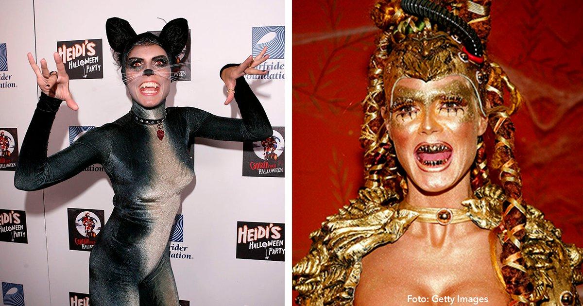 cover 20.png?resize=1200,630 - 8 increíbles disfraces con los que Heidi Klum ha impactado en Halloween.