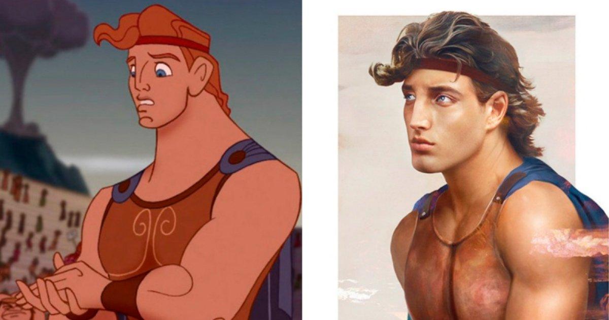 cover45 - Increíbles fotos de cómo se verían los príncipes de Disney si fueran reales.