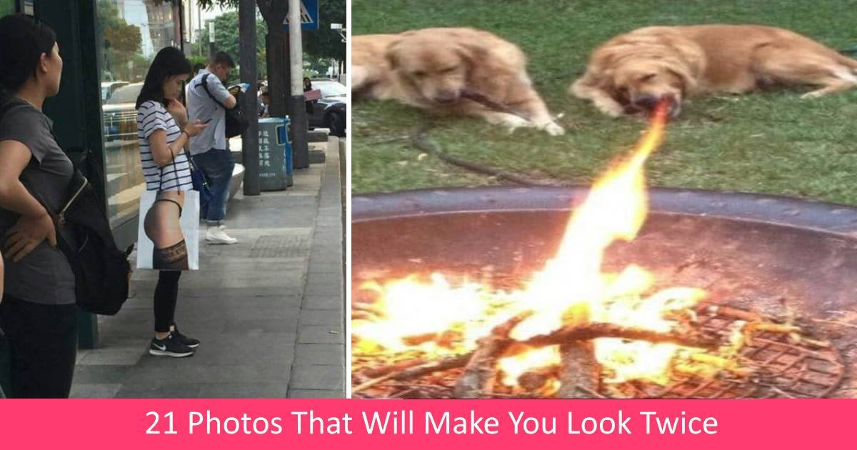 crazyphotos.jpg?resize=300,169 - 21 Photos That Will Make You Look Twice