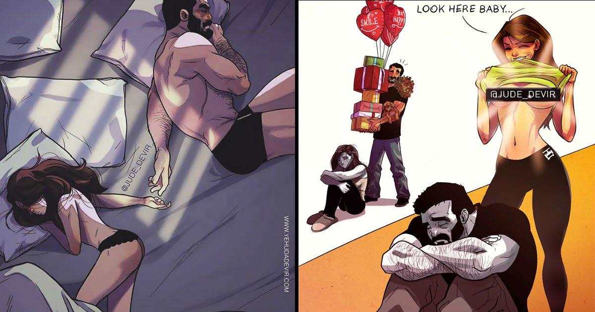 dfad - [2탄] '비글미' 넘치는 아내와의 행복한 일상을 만화에 담은 남편(+18)