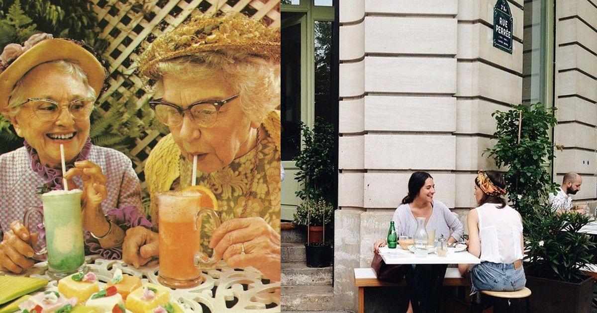 e69caae591bde5908d 1 4 - 以後可以名正言順和「姊妹滔去喝下午茶!」科學證實:保持身心健康最好的方式就是「每週跟朋友喝下午茶!」