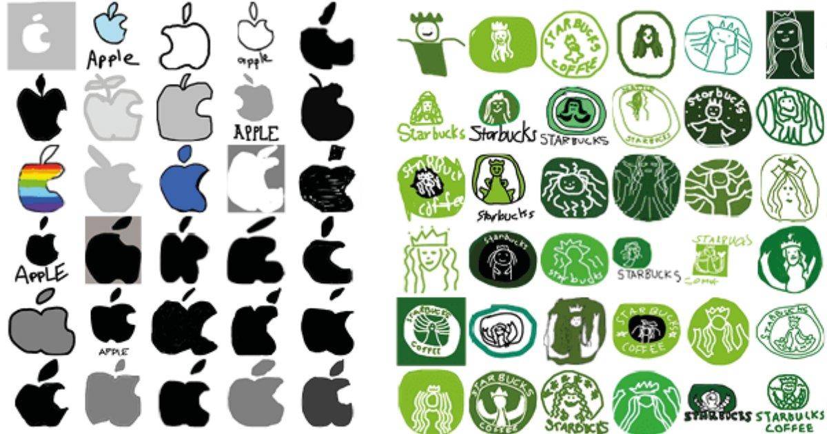 eba19ceab3a0eba19ceab3a0.png?resize=412,232 - 사람들에게 기억에만 의존해서 브랜드 로고를 그리게 하면? (+10)