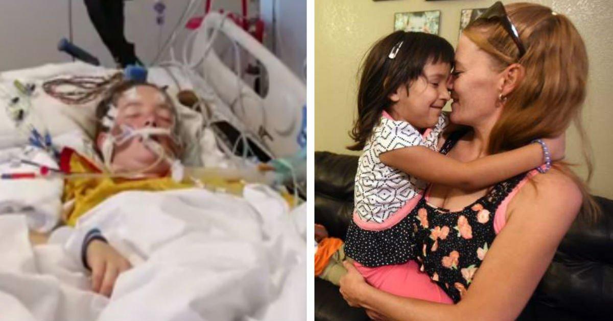 ec9db4eba684 ec9786ec9d8csafdfsfxcvsdfsdf.jpg?resize=300,169 - Dad Leaves Mom, But Mom Fights Brain Aneurysm Alone To Care For Six Kids