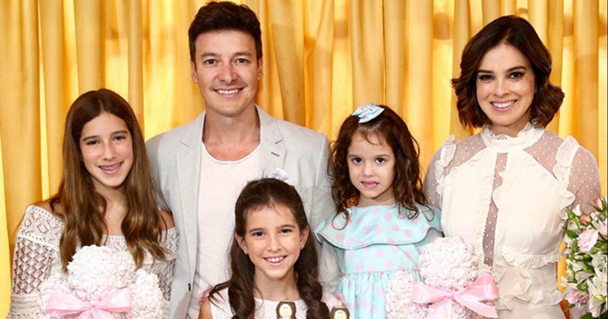 filha.png?resize=412,232 - Filha de Rodrigo Faro tem festa de 1ª comunhão encantadora