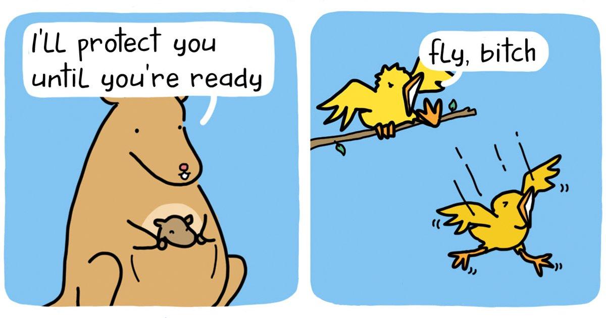 funny-comics-talking-objects-animals-the-square-comics-fb