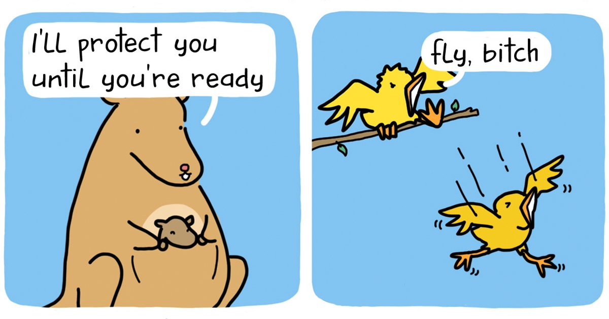 funny comics talking objects animals the square comics fb.png?resize=412,232 - What If Inanimate Objects And Animals Could Talk?