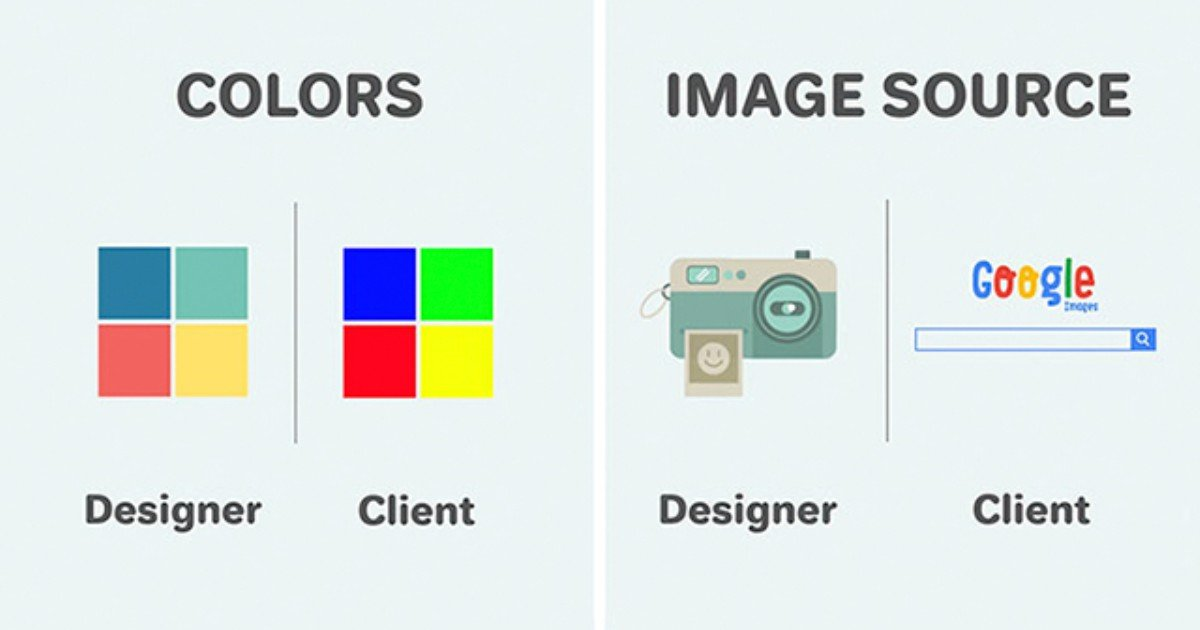 graphic designer vs client differences illustrations trust me i am designer thumb640 1.jpg?resize=412,232 - 디자이너 VS 클라이언트의 입장 차이를 보여주는 일러스트 11장