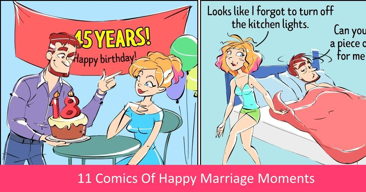 happycomics.jpg?resize=300,169 - 11 Comics Of Happy Marriage Moments That Are Sure To Cheer You Up