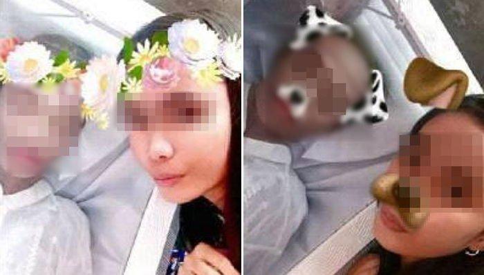 img 59e4d8b0584fa - 亡くなった彼氏の遺体に「犬エフェクト」で撮影した写真をSNSに掲載した女性