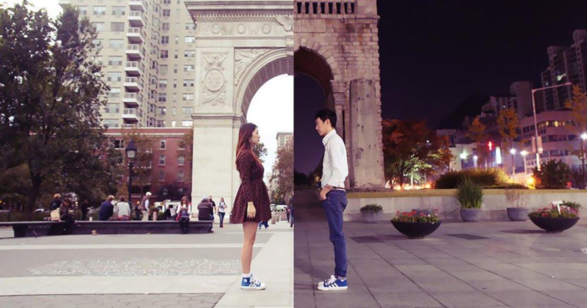long distance relationship korean couple photo collage half shiniart fb.jpg?resize=412,232 - 11個「緊緊抓住」遠距男友心的小技巧!用距離讓他更黏妳  #7 鹹濕視訊和文字調情絕對必要!