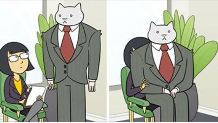 main - 網友創作爆笑漫畫「如果喵星人是你的老闆CEO?」貓奴看了大讚:「討人厭的老闆惟妙惟肖!」
