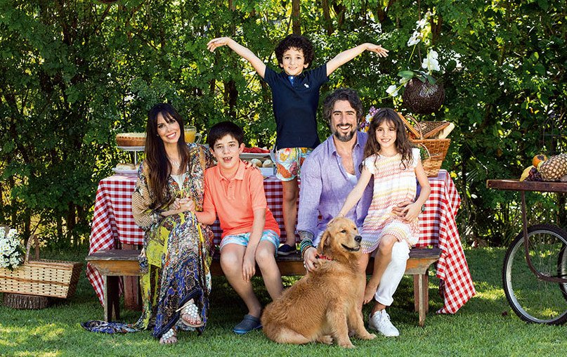 marcos mion e familia 03 - Esposa de Marcos Mion conta como superou o câncer de mama