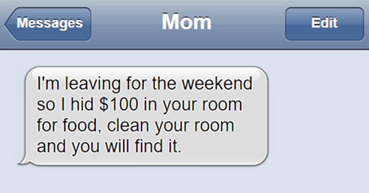 mom 1.jpg?resize=412,232 - 15 Hilarious Mom's Texts You Can't Help But To Laugh
