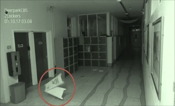 p31 - School Security Camera Captures The Troubling Ghost In Hallways