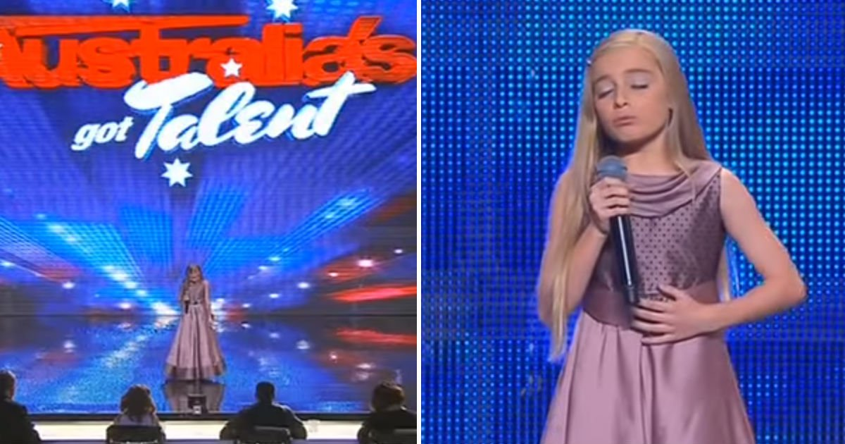 paric morgan agt - A Little Girl Amazes Australia's Got Talent With Her Angelic Voice. She Blows The Stage Away!