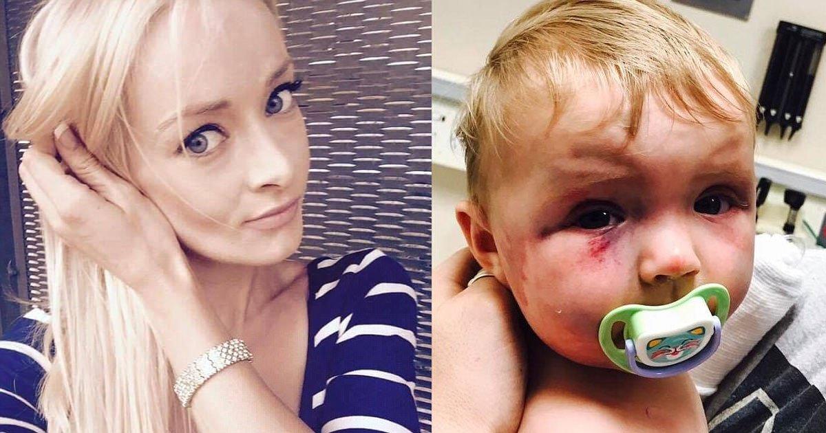 portada mujer golpeadora.jpg?resize=1200,630 - Una joven y atractiva mujer golpea a su bebé y sorprendentemente es libre de cargos por parte de un juez.