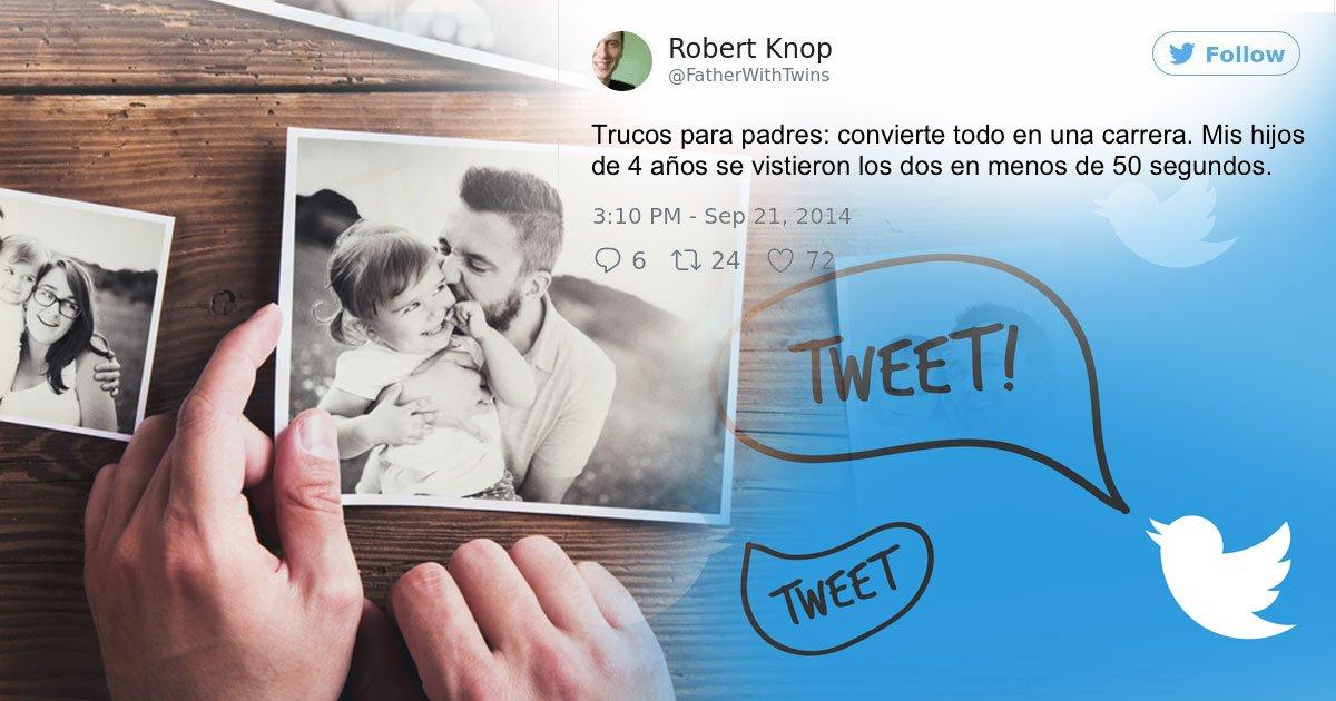 portada twitter.jpg?resize=412,232 - Ingeniosos padres nos regalan 15 trucos para ser felices con los hijos.
