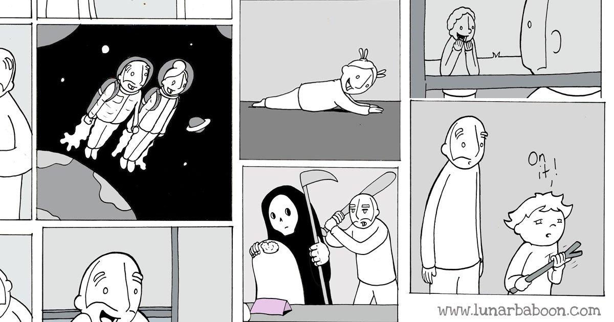portada - Estas 14 ilustraciones te harán ver al mundo de otra manera.