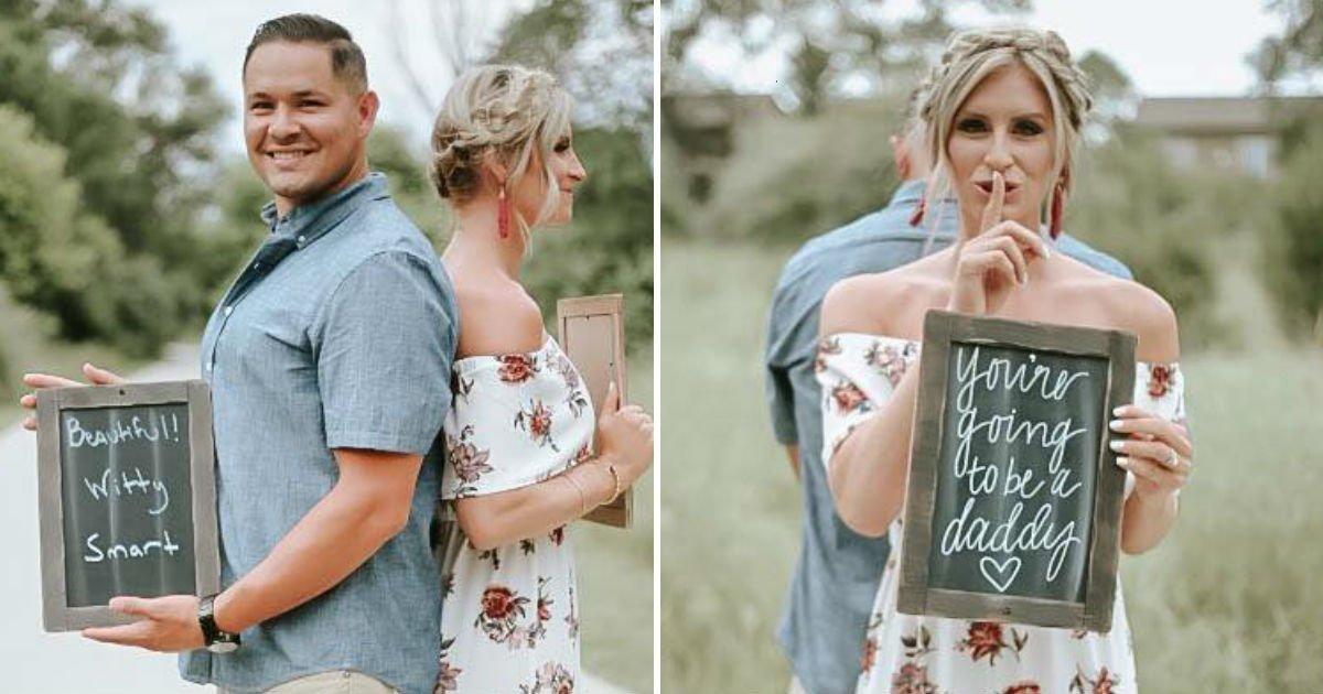 pregnant surprise.jpg?resize=1200,630 - Segredo! Ele não sabia que seria papai até ver o que a sua esposa havia preparado