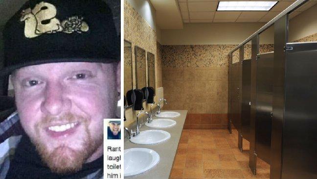rude teenager bathroom.jpg?resize=636,358 - O homem ouve risos vindos do banheiro do restaurante. Quando ele chega, encontra um idoso chorando.