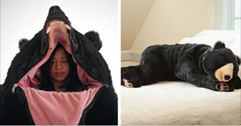 screen shot 2017 10 13 at 4 36 18 pm.png?resize=648,365 - Awesome Bear Sleeping Bag That Will Let You Sleep Forever!